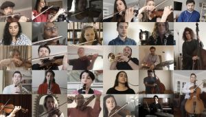 Cumhurbaşkanlığı Senfoni Orkestrası'ndan Mavi Tuna Valsi Özel Kaydı