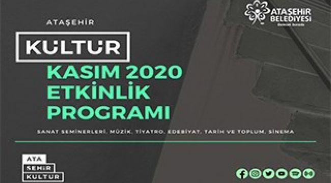 Ataşehir'de kültür-sanat Kasım'da tüm hızıyla devam edecek